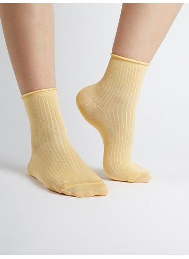 Faik Sönmez  Çorap 38491 Sarı
